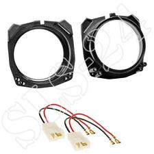 Lautsprecher Einbauset Ringe Adapter f/ür Ford Fiesta MK3//MK4//MK5 03//1989-11//2001 130mm