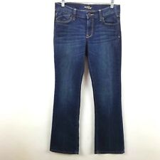 117cdf874de39 OId Navy The Flirt Women's Size 4 Jeans Short Petite Dark Wash Low Rise  Stretch