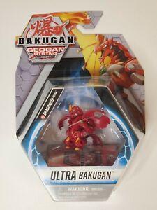 Bakugan Geogan Rising - Pyrus Dragonoid Ultra New In Box!