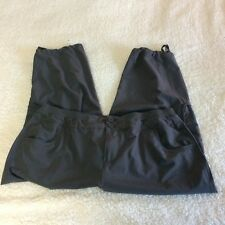 Style & Co. Sport Gray Mid Length Loose Exercise Pants Women's Size Large