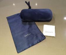 BRAND NEW GUCCI DESIGNER BLUE SUNGLASSES OPTICAL GLASSES  HARD CASE DUST BAG