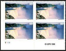USA Sc. C133 48c Niagara Falls 1999 MNH plate block