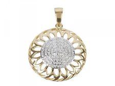 Diamanten Anhänger 925 Sterling Silber vergoldet NEU!