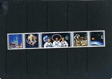 FUJEIRA 1971 Mi#642-646A SPACE APOLLO 14 STRIP OF 5 STAMPS MNH