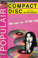 Compact Disc Katalogus 1989 Music book