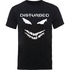 alterado oficial cara de miedo vela para hombre negro manga corta camiseta banda