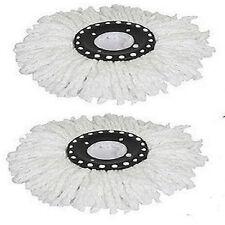 2pcs Microfiber Microfibric MOP Head Refill for Hurricane Magic MOP 360 Spin