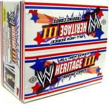 WWE Wrestling 2006 WWE Heritage Series 3 Trading Card Box