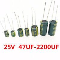 ILLCapacitor 337CKH100M Aluminum Capacitor 330UF 20/% 100V T//H New Quantity-25