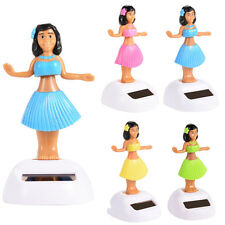 Solar Powered Flip Flap Dancing Hula Girl Toy Toy Home Desk Model Car Decor Gift