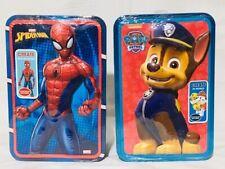 Bunble of Marvel Spider-Man 3D Jigsaw Tin & Nickelodeon Paw Petrol 3D Jigsaw Tin