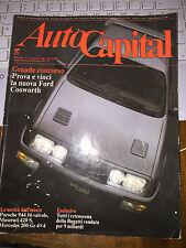 AUTOCAPITAL #8 1986 PORSCHE 944 16 V MASERATI 420 S MERCEDES 200 GE 4X4 BUGATTI