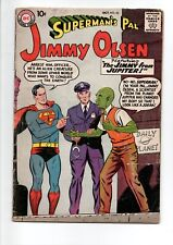 SUPERMAN's Pal JIMMY OLSEN #32 comic from 1958....$40 VALUE.....ONLY $9.95!
