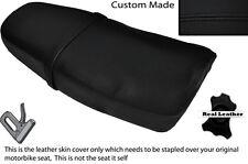 BLACK STITCH CUSTOM FITS YAMAHA SRX 600 DUAL LEATHER SEAT COVER ONLY