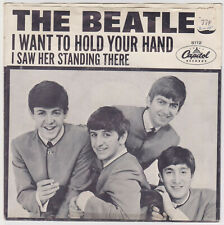 Beatles Picture Cover and 45 Single - I Want To Hold Your Hand