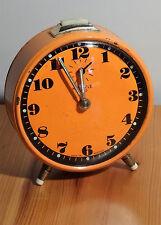 """shabby chic mechanischer Wecker """" Kienzle Duo """" vintage alarm clock ~ 60er 70er"""