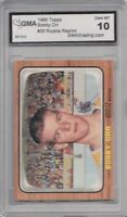 1966-67 Topps Hockey # 35 Bobby Orr RC Rookie Reprint GMA Graded 10 Gem MT