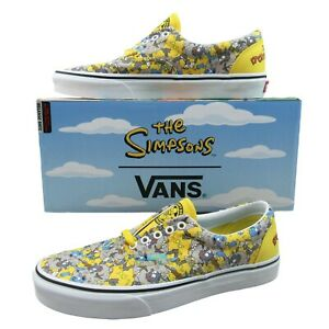 Vans x The Simpsons Era Itchy and Scratchy Shoes Limited VN0A4BV41UF Unisex Size