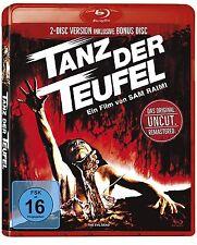 TANZ DER TEUFEL Sam Raimi UNCUT Bruce Cambell REMASTERED 2 BLU-RAY Box Neu