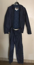 Vintage North Face Blue Gore Tex 2 Piece  Rain Gear Suite M MEDIUM Large READ AD