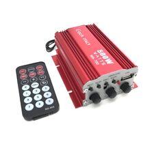 AMPLIFICATORE AUDIO BLUETOOTH 12 V USB MP3 PER CASA AUTO STEREO 2 CANALI 500 W