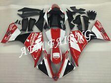 Milwaukee ABS Injection Mold Bodywork Fairing Kit for Yamaha YZF R1 2012-2014