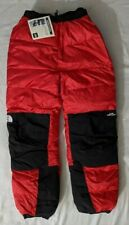 Vintage North Face Himalayan Pants 1996 Gore Dryloft Red Black L New With Tags