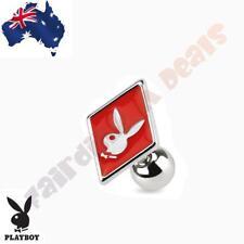 316 Surgical Steel Genuine Playboy Bunny Diamond Card Suit Tragus/Cartilage Stud