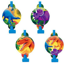 Dinosaur Party Supplies Blowouts Pack Of 8 Genuine Licensed