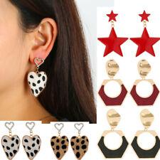 Women Newest Geometric Dangle Drop Earrings Studs Crystal Star Fashion Shape