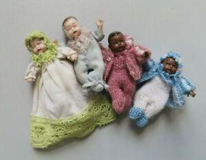 sehr seltene HEIDI OTT Puppen Püppchen Baby Puppenhaus 1:12 RAR