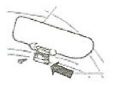 FIAT 500 L CERNIERA IN PLASTICA PANTINA PARASOLE RICAMBI D'EPOCA 22/10