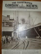 Photo UK Dock Strike Cunard Queen Mary stranded 1960
