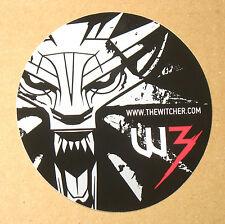 Der Hexer 3 W3 Mörder der Könige sehr seltene Sticker von der Gamescom 2013