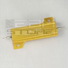 Resistenza corazzata 50 W 1 ohm corpo in alluminio - ART. N006