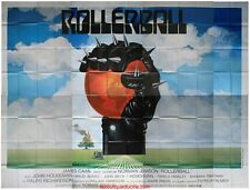 ROLLERBALL Affiche Cinéma GEANTE / WIDE Movie Poster JAMES CAAN