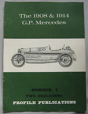 Profile Publications magazine Issue 1 featuring the 1908 & 1914 G.P. Mercedes