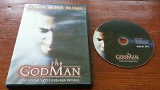 The God Man: American Sign Language Version (DVD) deaf evangelism