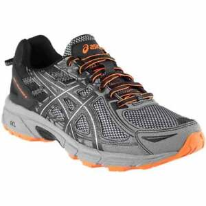 ASICS Gel-Venture 6  Mens Running Sneakers Shoes    - Grey - Size 8 4E
