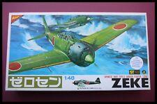 "1/48 Nichimo Zero luchador de tipo 0 ""Zeke"" modelo kit"