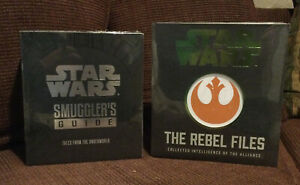 Star Wars: The Rebel Files Deluxe & Smuggler's Guide: Intelligence Alliance, NEW