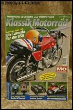 Klassik Motorrad 1/07 Laverda American Eagle Indian Sco