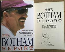 The Botham Report by Ian Botham Hardback Signed First Edition Cricket Coaching
