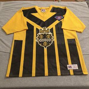 Vtg Pittsburgh Steelers 1994 Alternate Flag Jersey Barry Foster NFL L Large