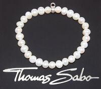 Thomas Sabo X0192-404-17 L 16,5 cm Charm Armband Türkis neu