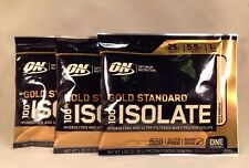 3 x ON OPTIMUM NUTRITION Gold Standard 100% ISOLATE Hydrolyzed Whey Protein