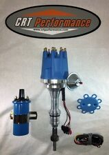 FORD 5.0L 302 EFI TO CARB CONVERSION small cap BLUE HEI DISTRIBUTOR + 45K COIL