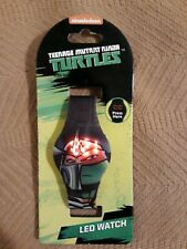 Collectible Teenage Mutant Ninja Turtles Watch Touch Display RARE 2016 One Size