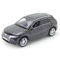 1:32 Audi Q5 SUV Model Car Metal Diecast Gift Toy Vehicle Light Sound Kids Black