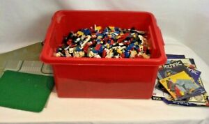 Vintage Lego Bundle Technic 1980's Used Condition Baseboards Manuals 6kg W765